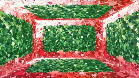 Glitter Room Green Star 3 4k Animation