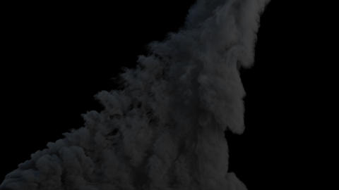 Large scale Explosion Animation