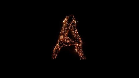 ALPHABET 2 BURNING