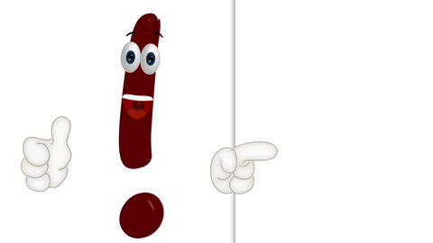 Cartoon Exclamation Mark Animation Pack 2