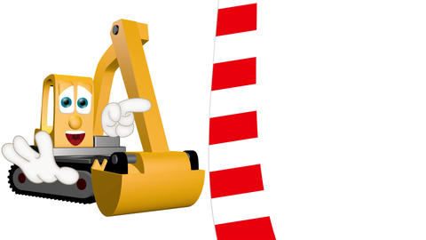 Cartoon Excavator Animation Pack 0