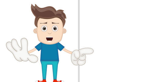 Smart Cartoon Boy Animation Pack 1