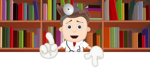 Cartoon Doctor Animation Pack