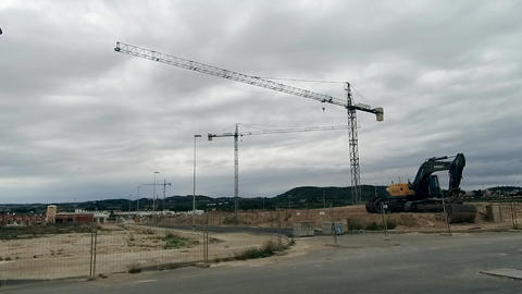 Building site in Spain HD Archivo