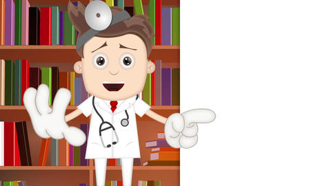 Cartoon Doctor Animation Pack 1