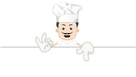 Cartoon Cook Animation Pack 1