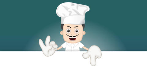 Cartoon Cook Animation Pack 2