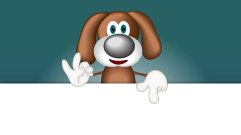 Funny Cartoon Dog Animation Pack