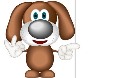 Funny Cartoon Dog Animation Pack 0
