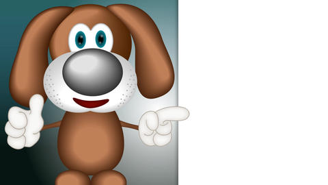 Funny Cartoon Dog Animation Pack 1