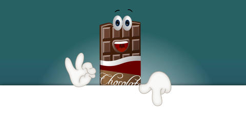 Funny Cartoon Chocolate Animation Pack