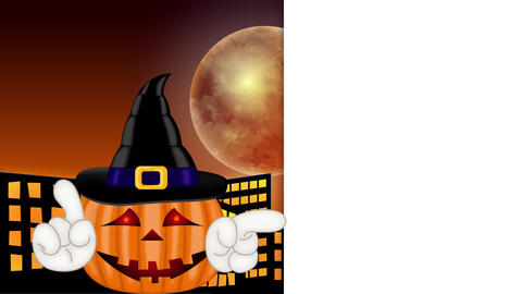 Pumpkin - Funny Halloween Cartoon Character Animation Pack