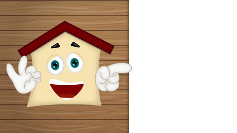 House - Funny Cartoon Character Animation Pack 0