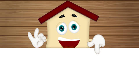 House - Funny Cartoon Character Animation Pack 2