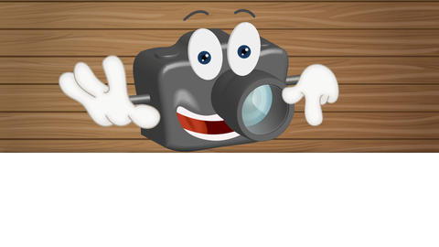 Funny Cartoon Camera Animation Pack 0