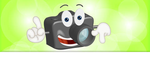 Funny Cartoon Camera Animation Pack 1