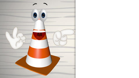 Construction Cone Animation Pack 2