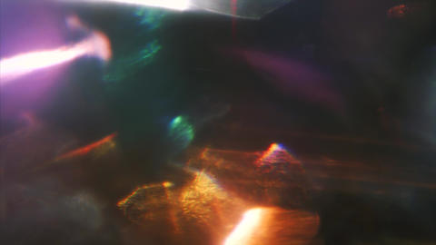Multi-colored light beams, glitch, noisy tv effect. Overlay for vintage look Live Action
