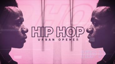 Hip Hop Urban Opener After Effects Template