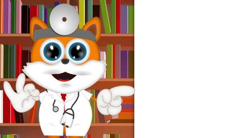 Marvin Cat Pet Veterinarian Animation Pack