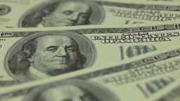 Hundred dollar bills Footage