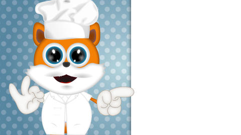 Marvin Cat Cook Cartoon Animation Pack 1
