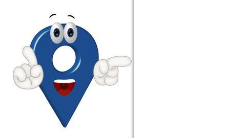 Cartoon Location Icon Animation Pack 1