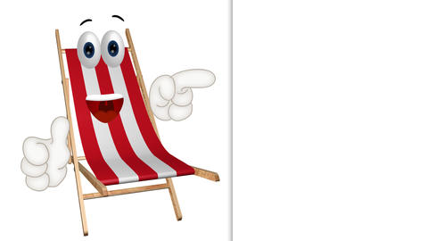 Funny Cartoon Dock Chair Animation 0