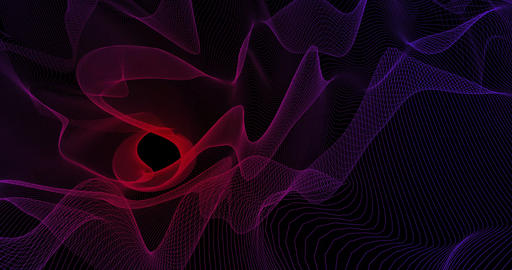 Futuristic Science Fiction Abstract Background Concept Art Footage