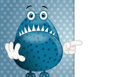 Funny Monster Cartoon Animation Pack