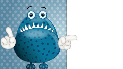 Funny Monster Cartoon Animation Pack 1