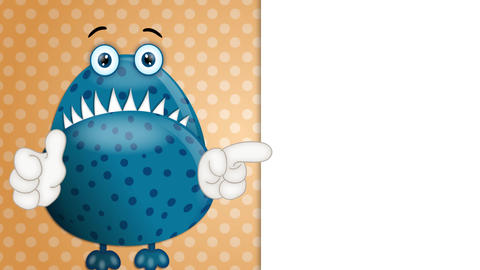 Funny Monster Cartoon Animation Pack 2