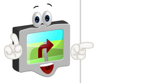 Funny Cartoon Navigation Animation Pack
