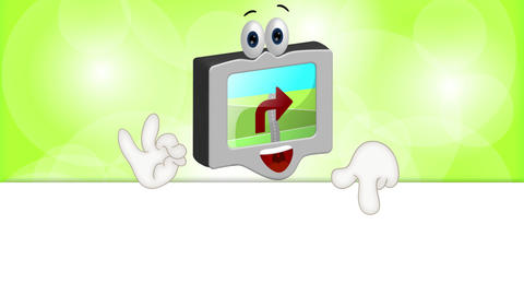 Funny Cartoon Navigation Animation Pack 0
