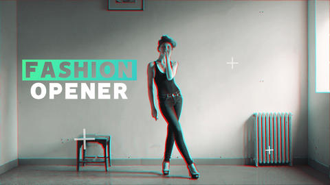 Fashion Opener Premiere Proテンプレート