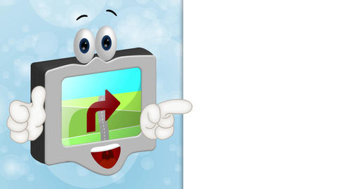 Funny Cartoon Navigation Animation Pack 2