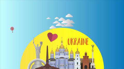 Rise up Ukraine After Effects Template