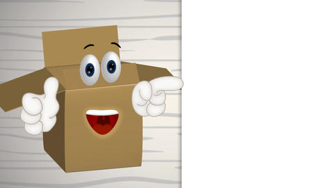 Funny Parcel Cartoon Animation Pack