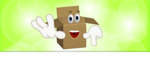 Funny Parcel Cartoon Animation Pack 0