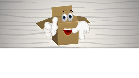 Funny Parcel Cartoon Animation Pack 1