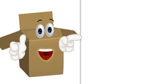 Funny Parcel Cartoon Animation Pack 2