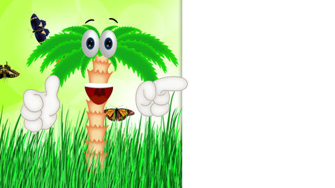 Funny Cartoon Palm Animation Pack 0