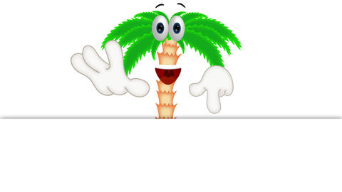 Funny Cartoon Palm Animation Pack 2