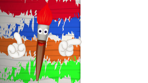 Funny Paint Brush Animation Pack