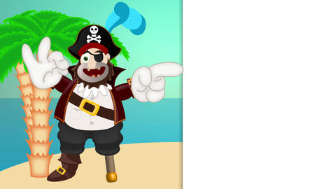 Friendly Pirate Funny Cartoon Animation Pack
