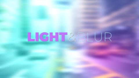 Light & Blur Transitions Presets Premiere Pro Template