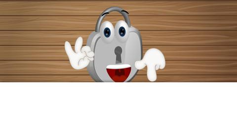 Funny Padlock Cartoon Animation Pack 1