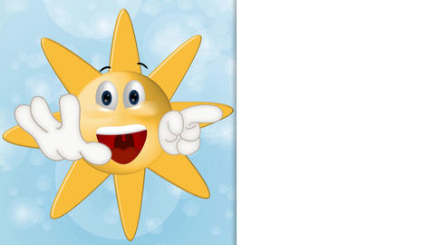 Funny Sun Cartoon Animation Pack 0