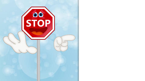 Funny Stop Sign Animation Pack 0