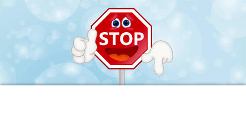 Funny Stop Sign Animation Pack 2